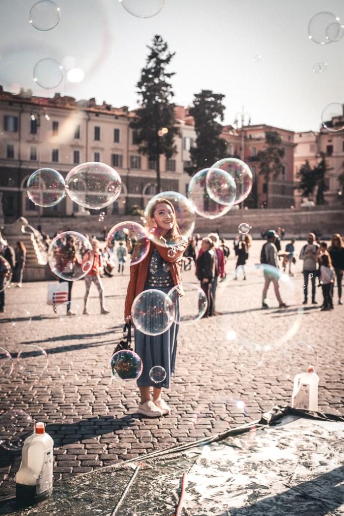 Piazza del Popolo fun