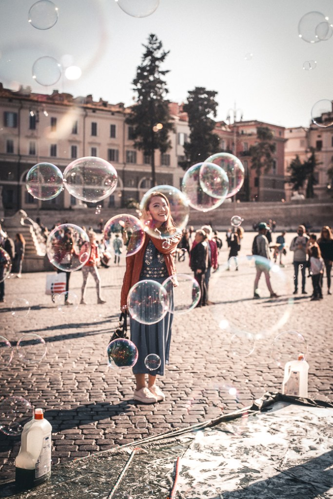 Rome Popolo plaza 人民廣場羅馬-most photogenic places in Rome