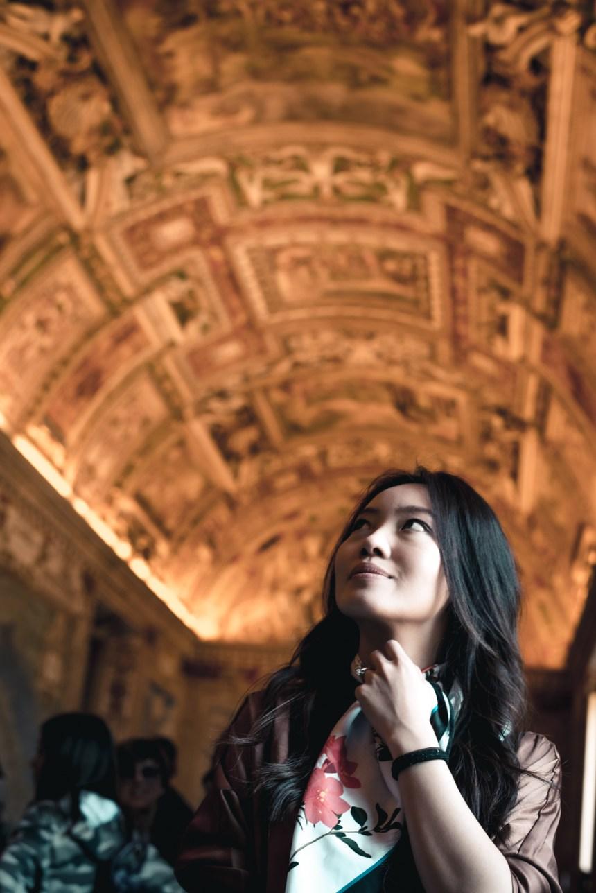 Galleria Delle Carte Geografiche Gallery of Maps 梵蒂岡博物館