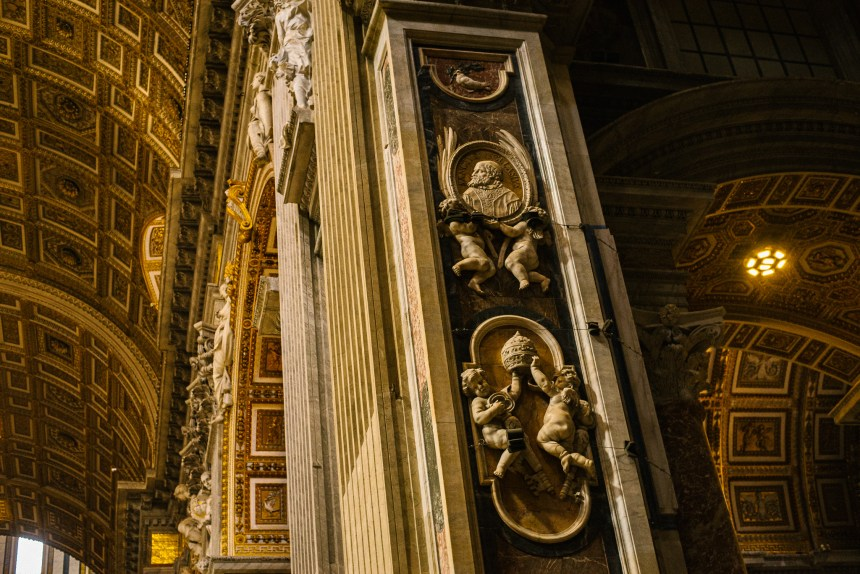 St Peter's Basilica inside