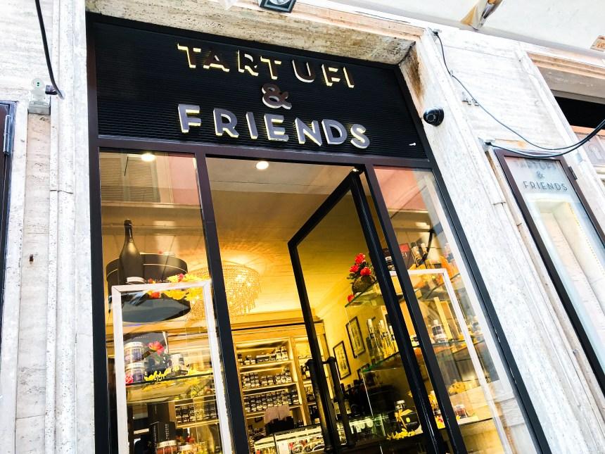 Tartufi & Friends fun dining Rome