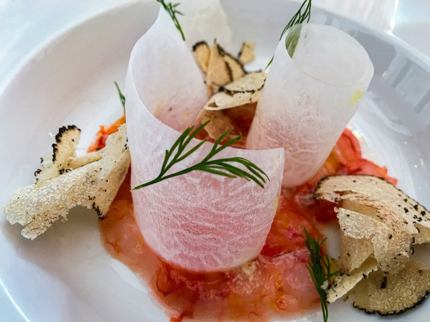 Tartufi & Friends high end restaurant to try in Rome