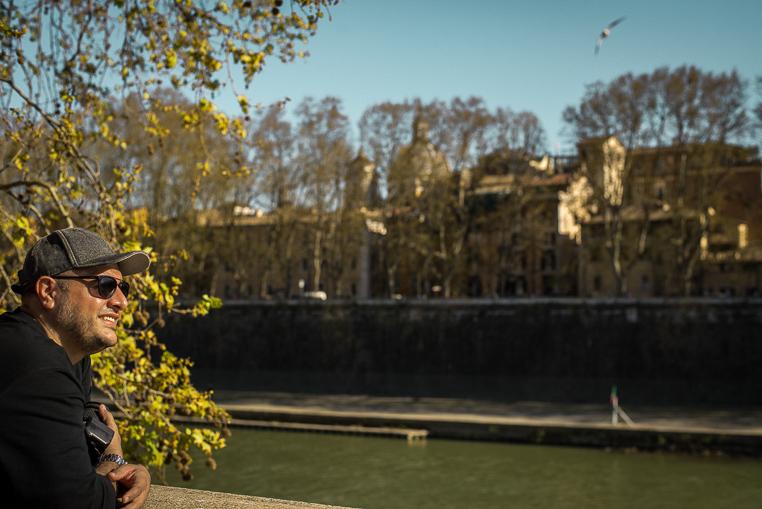 Tiber river Rome trip
