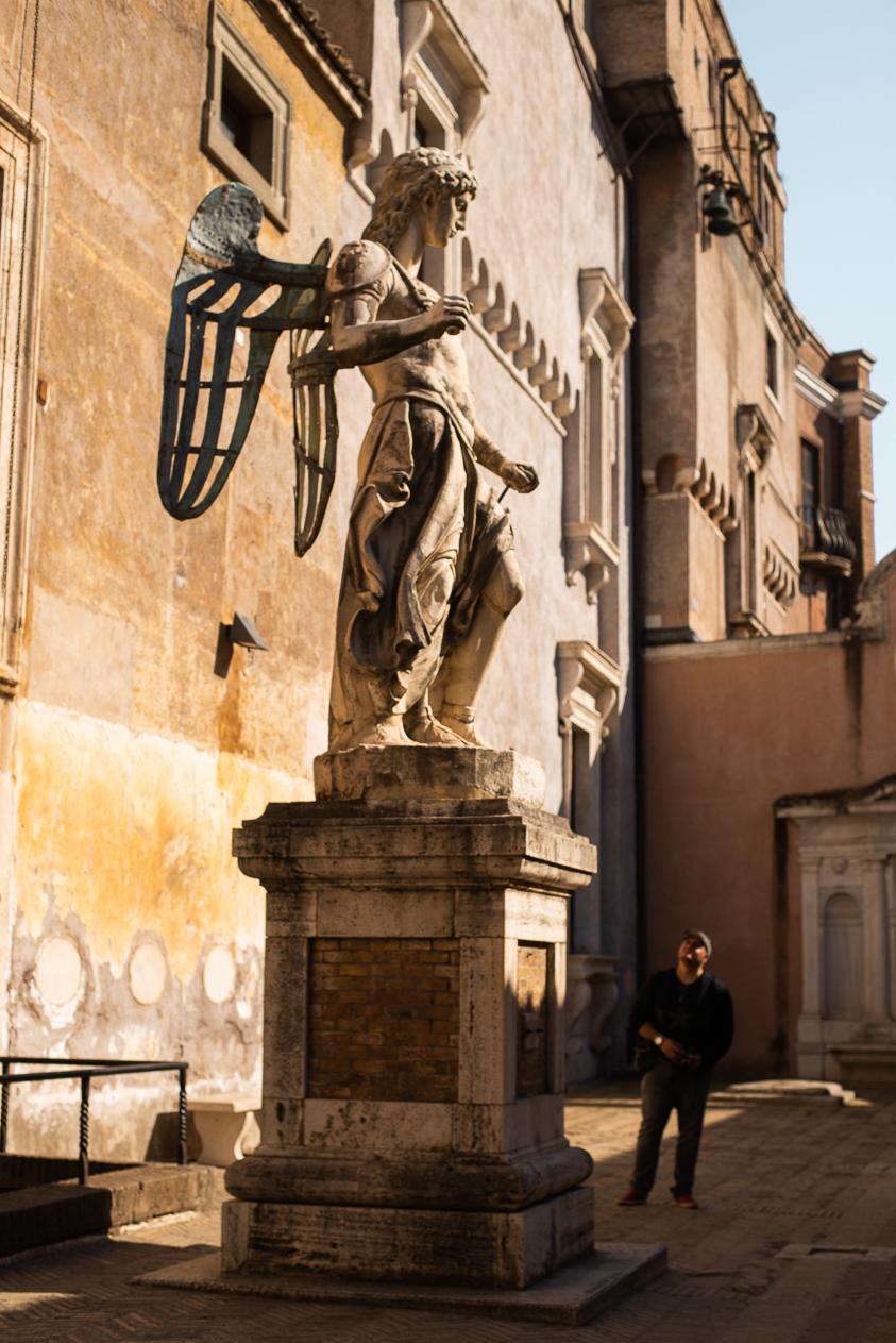 angel by Raffaello da Montelupo