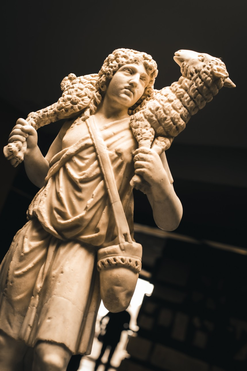 lamb shepher vatican museum