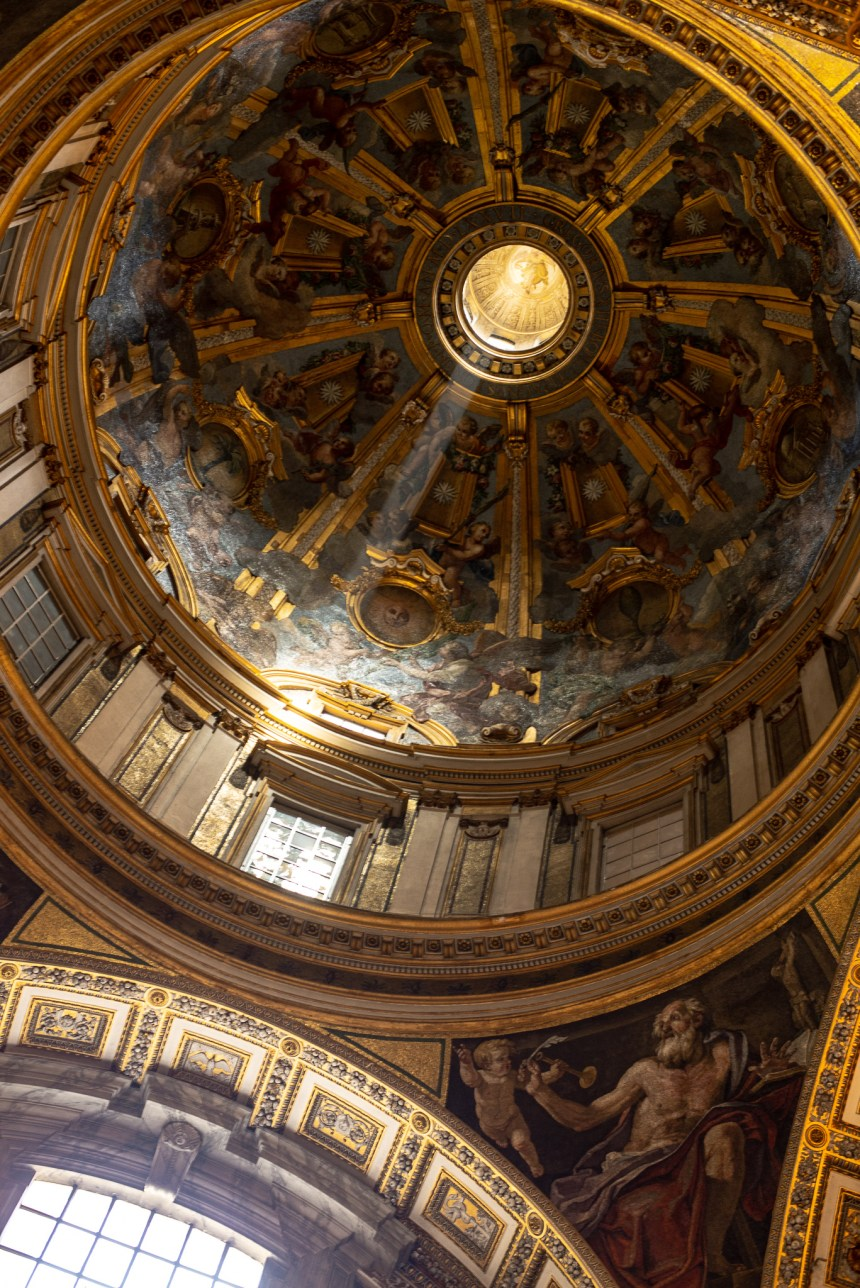light inside St Peter's Basilica