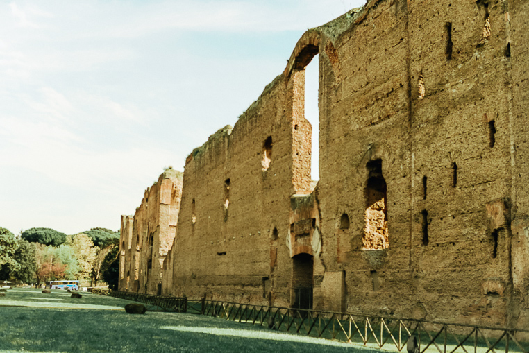 what to see in Rome Baths of Caracalla