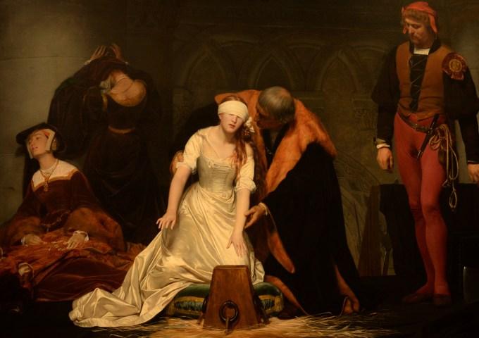 Lady Jane Grey by Paul Delaroche