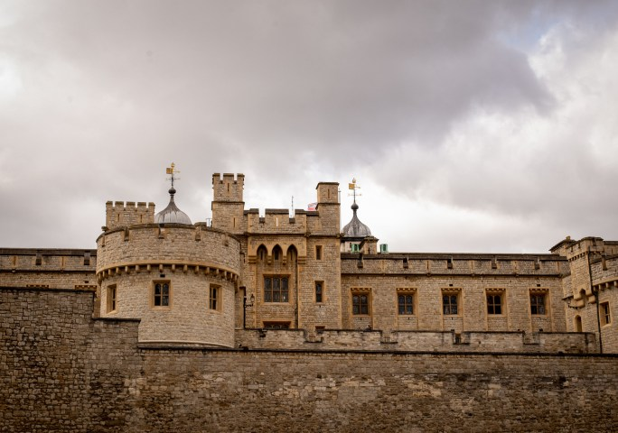 old castle tower of London