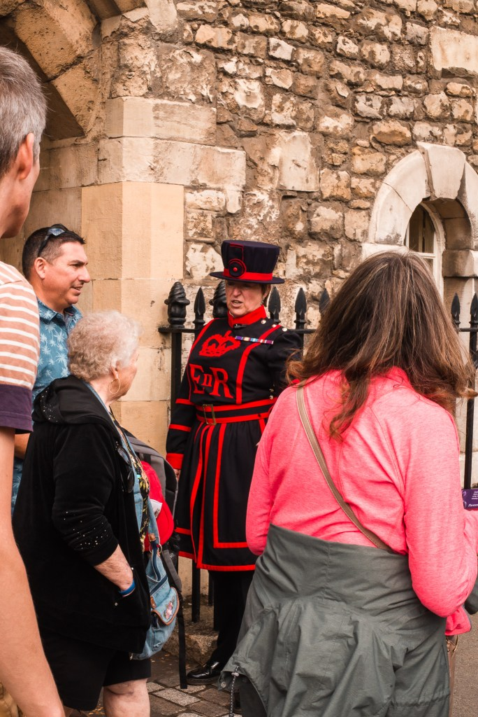 Yeoman Warder in Tower of London