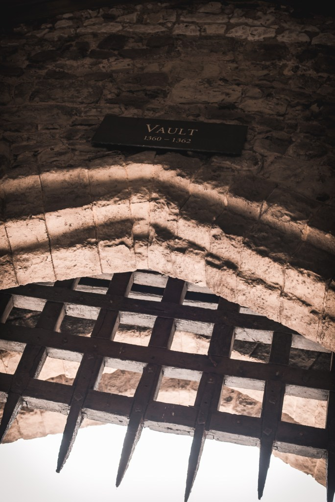 old vault in Tower of London
