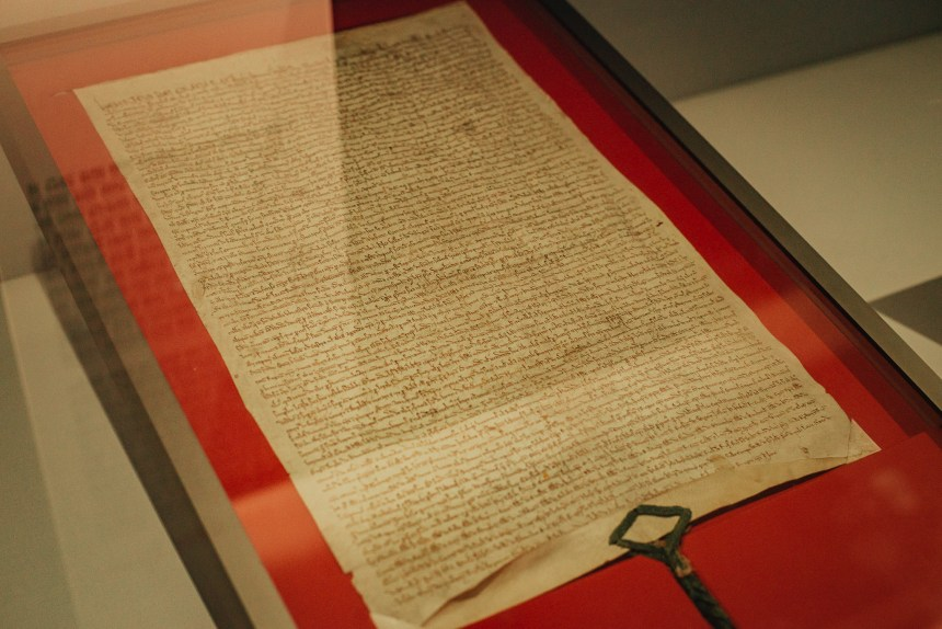 Magna Carta in London