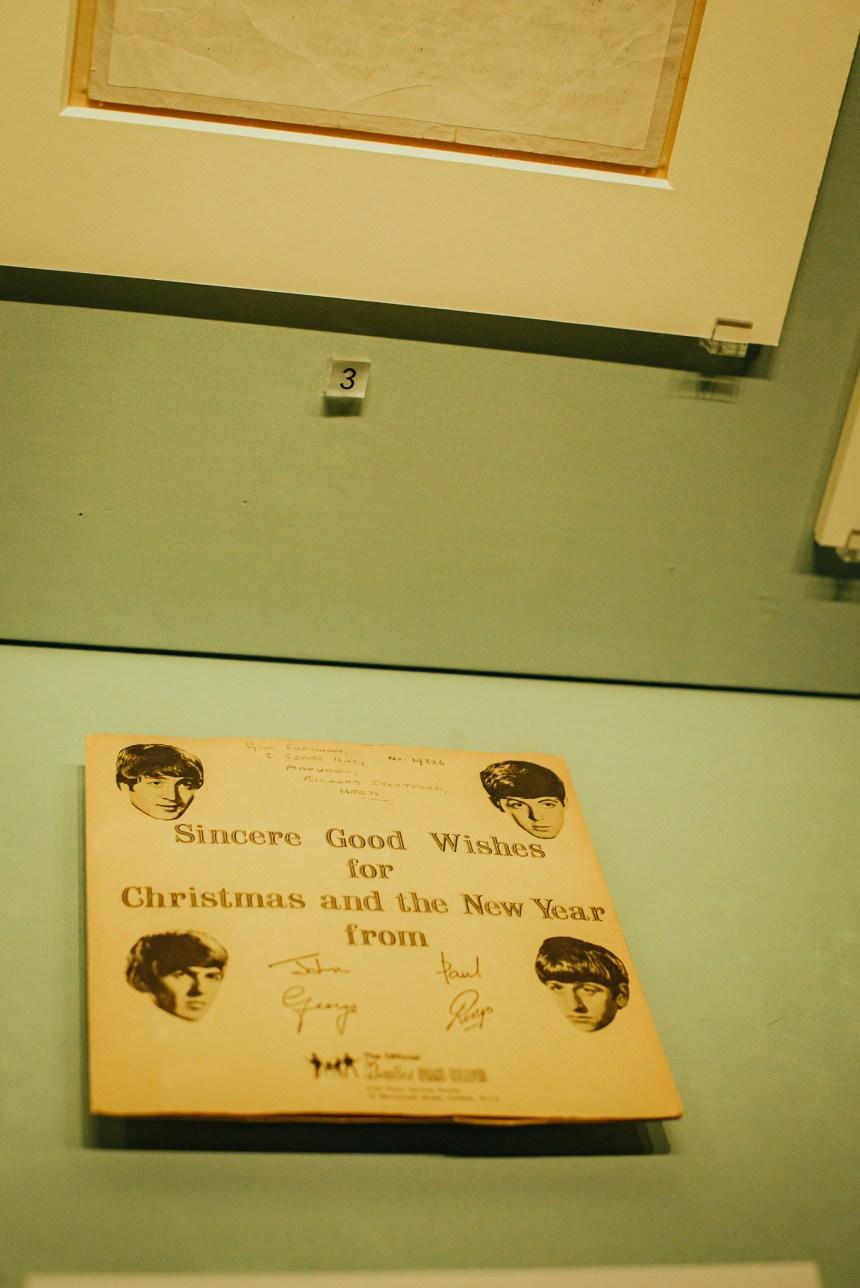 Beatles treasures gallery British Library experience