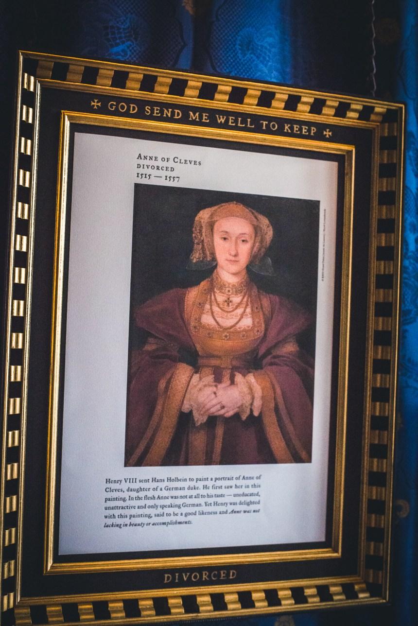 Hampton court palace Henry VIII fourth wife