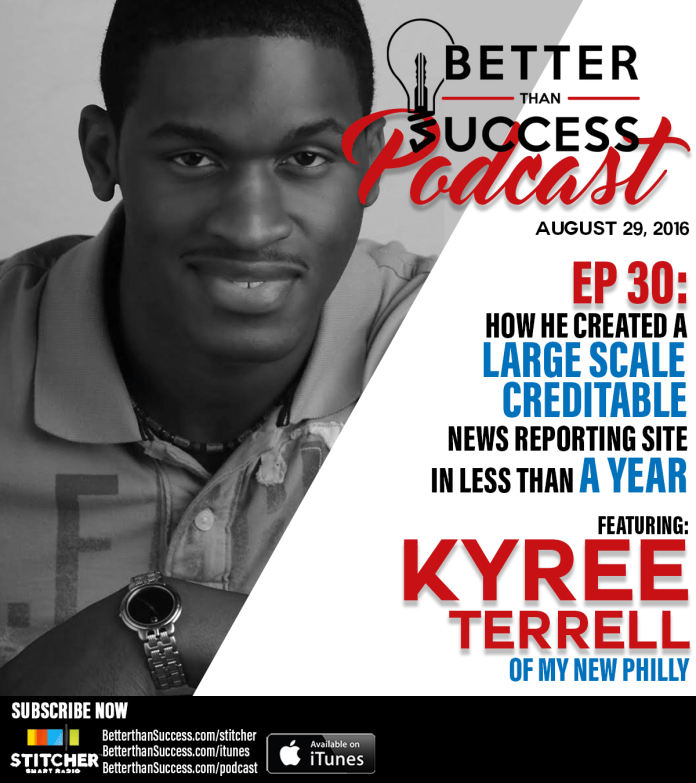 Kyree Terrell on How He Created a Large Scale News Reporting Site in Less Than a Year