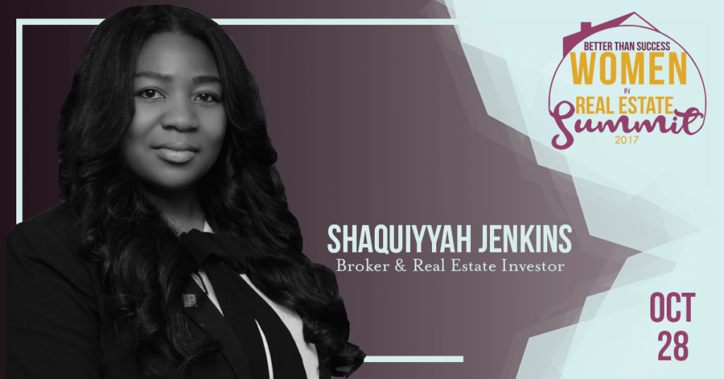 Women in Real Estate_SHAQUIYYAH JENKINS