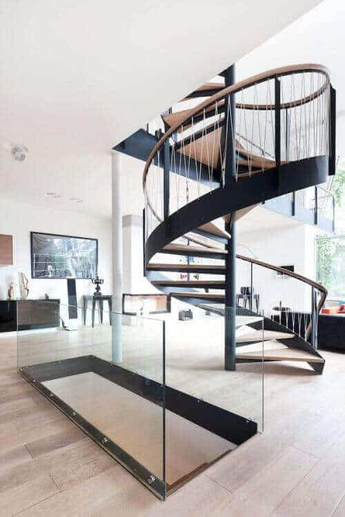 38 Luxury Spiral Staircase Suggestions Built To Impress