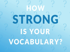 Improve your vocabulary and your TOEFL scores goes higher.