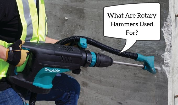 what are rotary hammers used for