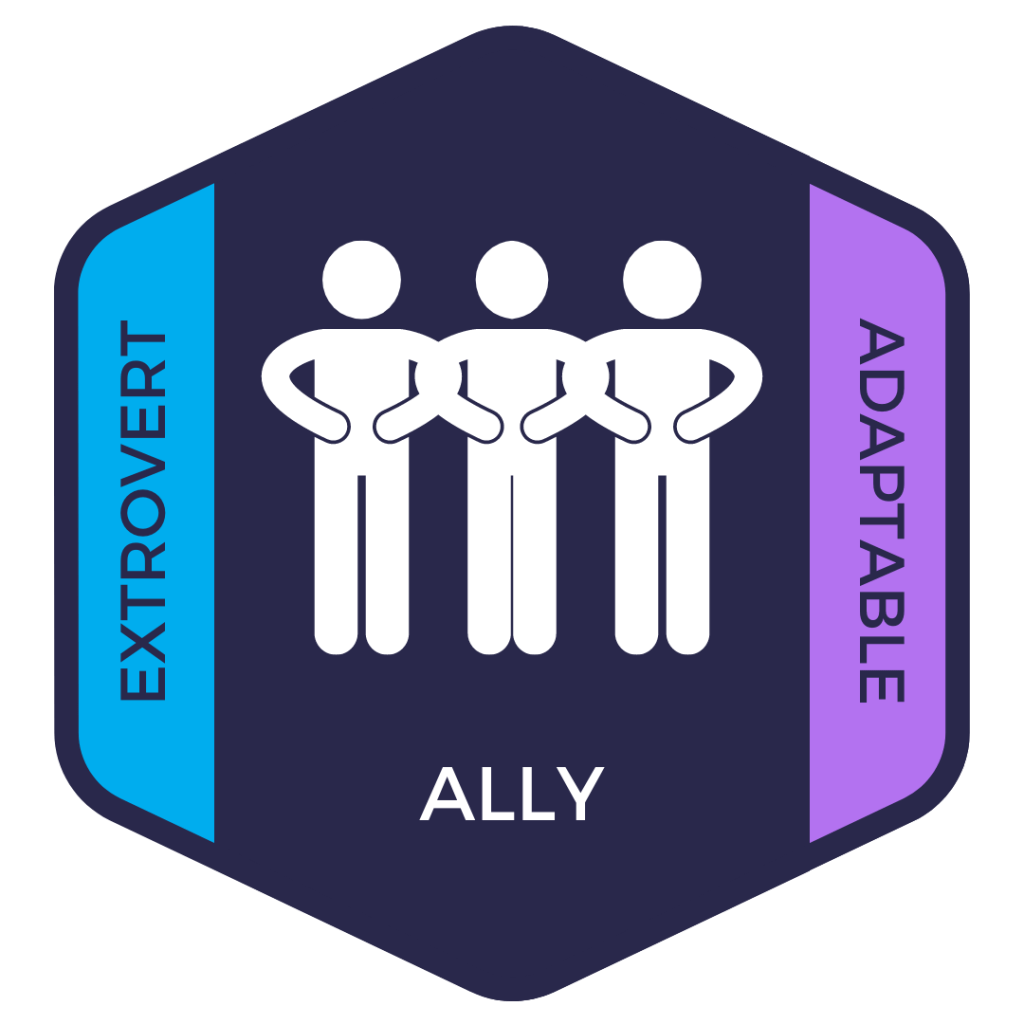 Ally: Extrovert and Variable advocate