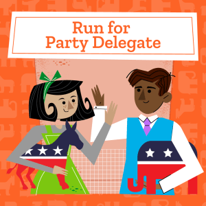 Run for Party Delegate