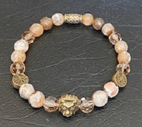 Brass Lion Bracelet