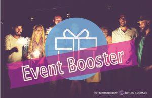 Promotion Pakete im Überblick - Event Booster