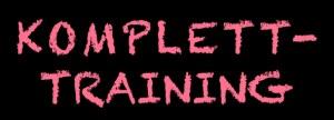 Überschrift: Komplett-Training