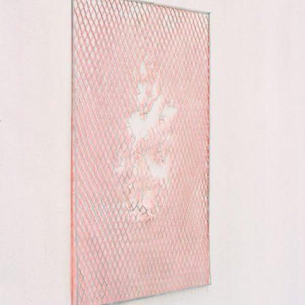 Maschendraht 2004, 80 x 60cm, Papier