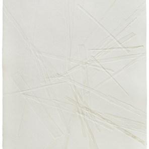 Strukturdruck - Serie, 2015 -17, Prägedruck Büttenpapier, Maße 50 x 70
