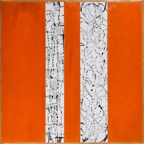 Z1 - Serie, 2017, Tusche, Öl, Ölpapier, 47 x 47cm