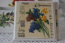 Podkładki w kwiaty