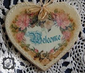 """Serce """"Welcome"""""""