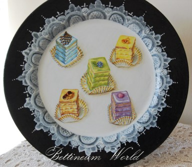 Ciasteczkowy talerz