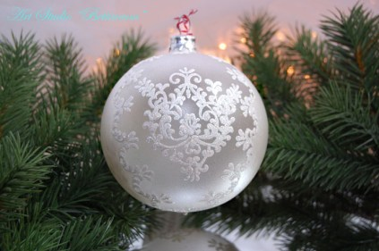 French Lace Ornament