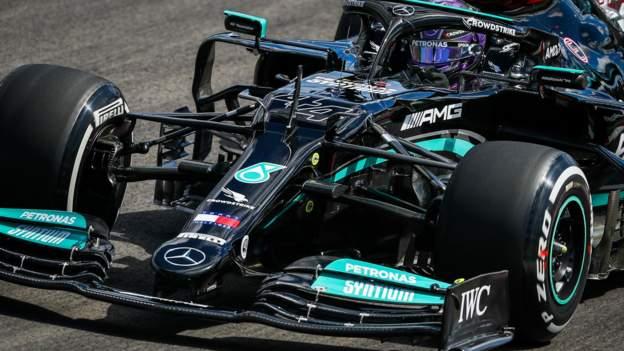 Portuguese Grand Prix: Lewis Hamilton quickest in second practice for Mercedes