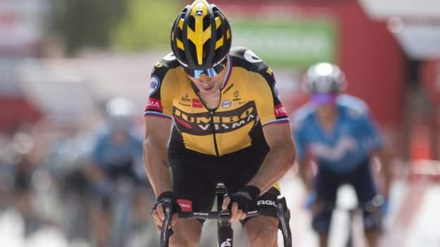 Vuelta a Espana: Defending champion Primoz Roglic wins stage 11
