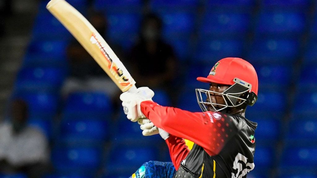 Sherfane Rutherford and Dwayne Bravo lead resurgent Patriots to victory