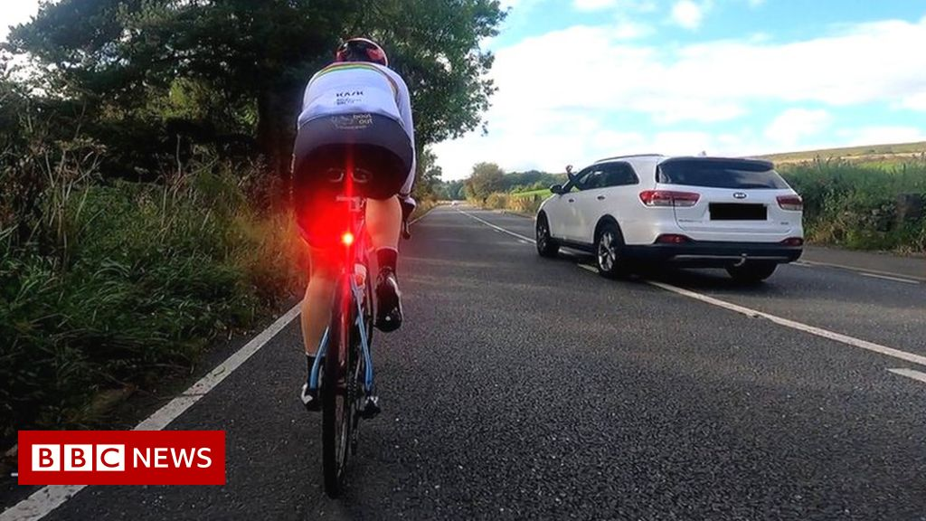 Dame Sarah Storey: Paralympian abused during cycling safety drive