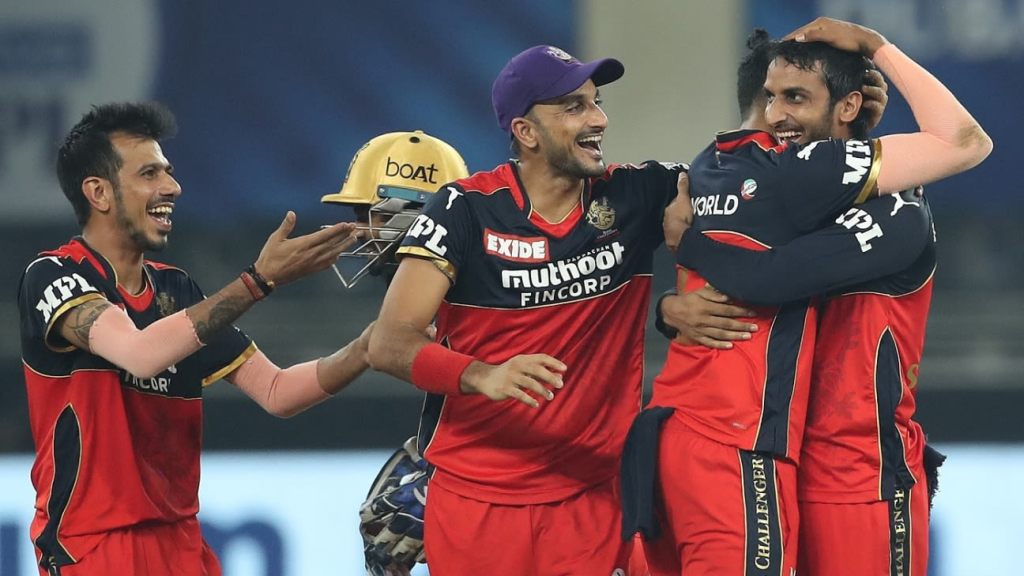 Chahal, Garton and Shahbaz show RCB's bowling might