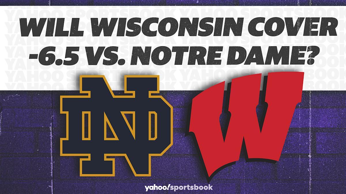 Will Wisconsin cover -6.5 vs. Notre Dame?