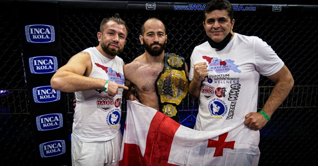 Zviad Lazishvili steps in on 3 days' notice to fight Jonathan Martinez at UFC Vegas 41