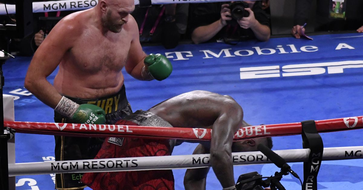 Fury vs. Wilder 3 video: See Tyson Fury's knockout of Deontay Wilder from amazing angle