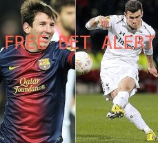 Bale and Messi - Surely one of them will score tonight