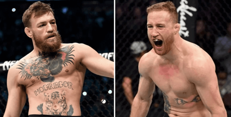 McGregor Gaethje Odds