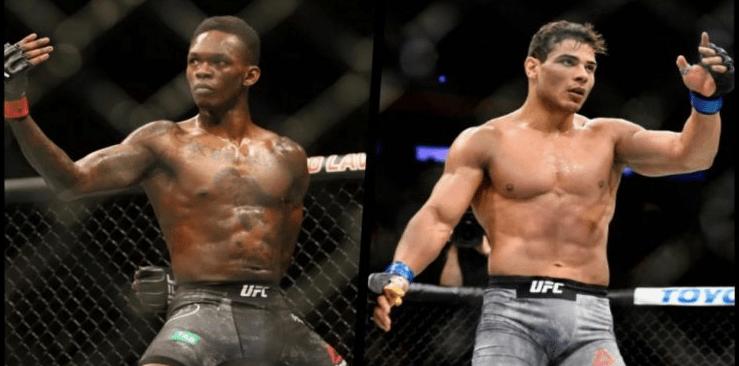Adesanya Costa UFC 253 Odds
