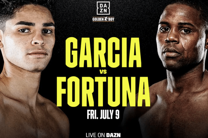 Garcia vs Fortuna set for July 9