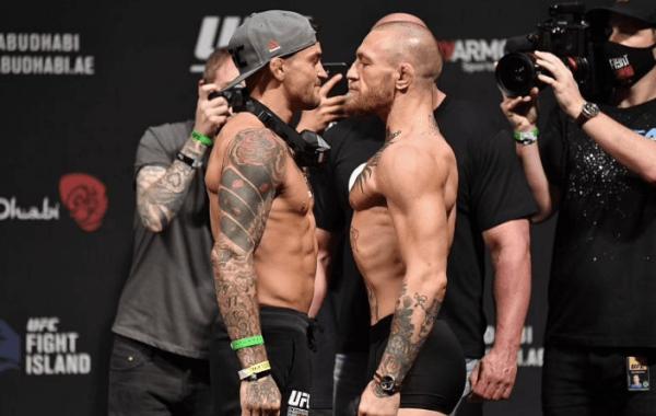 Conor McGregor vs Dustin Poirier 3