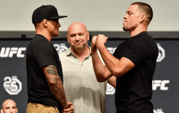 Poirier vs Diaz Stare Off