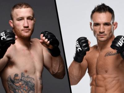 Justin Gaethje vs Michael Chandler set for UFC 268